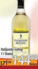 Belo vino Italijanski rizling