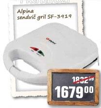 Sendvič gril sf- 3919