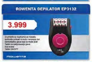 Depilator EP3132