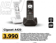 Bežični telefon Gigaset A420