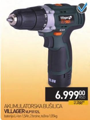 Akumulatorska bušilica Vlp 5112l