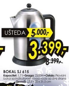Bokal SJ 615