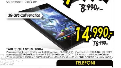 Tablet QUANTUM 700M