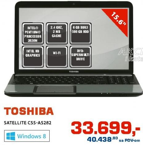 Laptop Satellite C55-A5282