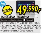 Laptop Pavilion 15-E004-E4Q09EA