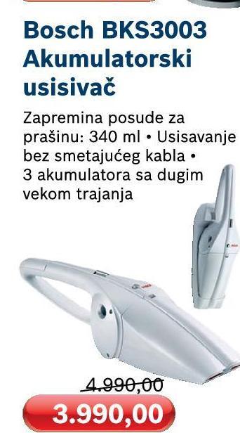 Usisivač BKS 3003