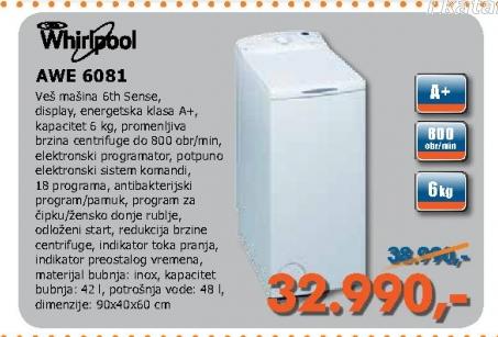 Veš Mašina Awe 6181