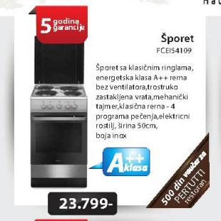 Šporet FCEI54109