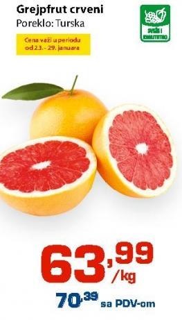 Grejpfrut crveni