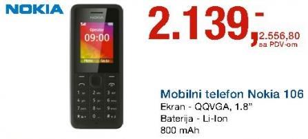 Mobilni Telefon Nokia 106