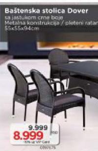 Baštenska stolica Dover