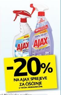 Ajax sprejevi za čišćenje