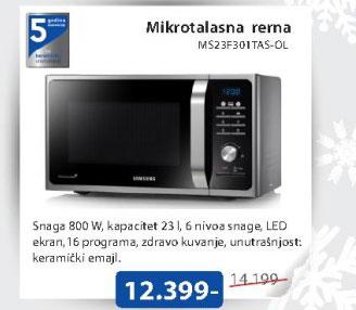 Mikrotalasna MS23F301TAS/OL