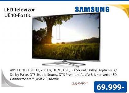 "Televizor LED 40"" UE40F6100"