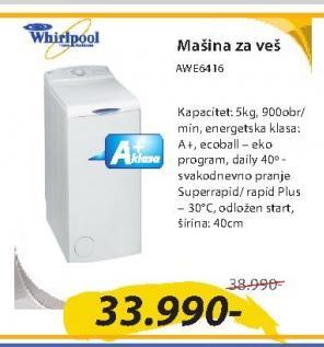 Mašina za veš AWE6416