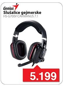 Slušalice sa mikrofonom HS-G700V