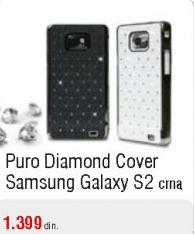 Puro Diamond Cover Samsung Galaxy S2