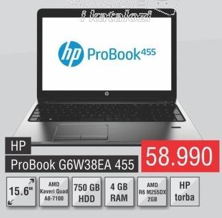 Laptop ProBook G6w38ea 455