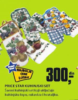 Kuhinjski set PRice Star