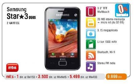 Mobilni telefon Star 3