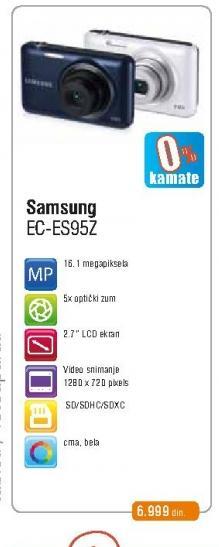Fotoaparat EC-ES95ZZBPBE3