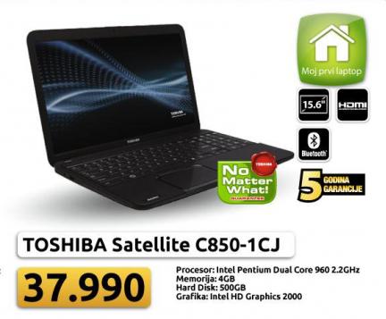 Laptop Satellite C850-1CJ