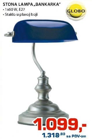 Stona lampa Bankarka