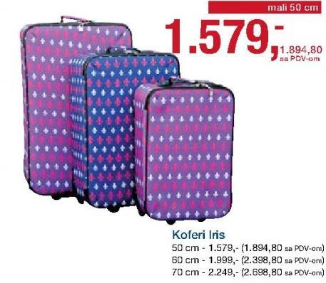 Kofer Iris 70cm