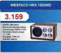 Radio tranzistor HRA 1200WD