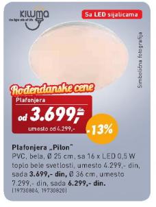 Plafonjera Pilon