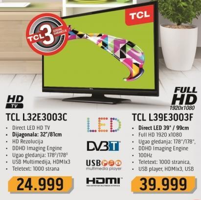 """Televizor LED 39"""" L39e3003f"""