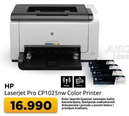 Kolor laserski štampač Laserjet Pro Cp1025nw