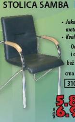 STOLICA SAMBA/LUKS CRNA V14