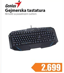 Tastatura gejmerska KB-G265
