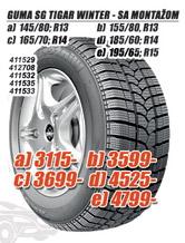 Guma SG Winter 165/70 R14