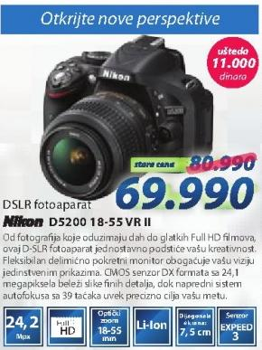 Digitalni fotoaparat D5200