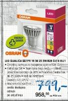 LED sijalica SSTPR 16 50 25, OSRAM, 5W/828 GUI10 BLi1