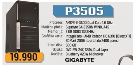 Desktop računar P3505