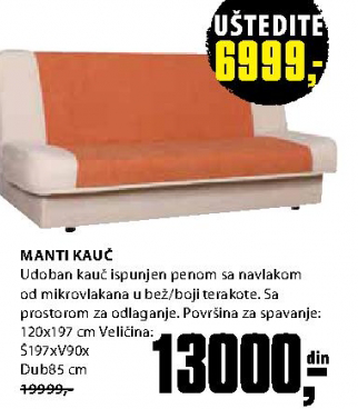 Kauč Manti