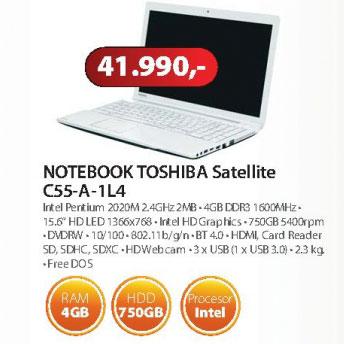 Laptop Toshiba Satellite C55-A-1L4