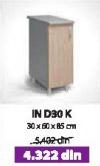 Kuhinjski element IN D30K