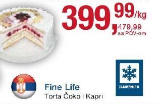 Torta Kapri