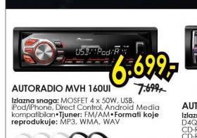 Autoradio MVH 160UI