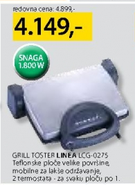 Grill toster LCG-0275