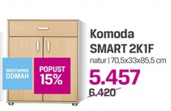 Komoda Smart 2K1F