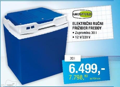 Električni Frižider ručni 30l