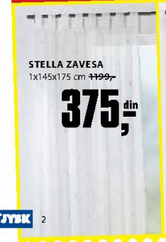 Zavesa Stella