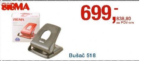 Bušač Listova 518