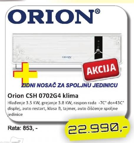 Klima Orion 0702G4