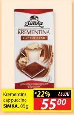 Čokolada cappuccino